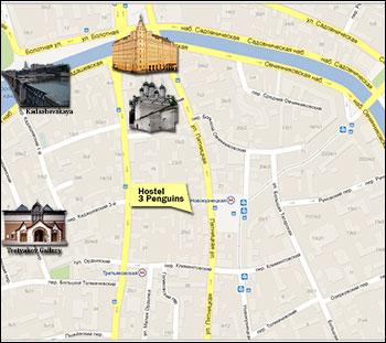 Map to Pyatnitskaya 20-2