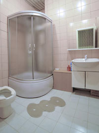Ванная комната №1 в Хостеле на Петровском Бульваре