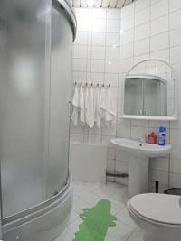 Ванная комната №2 в Хостеле на Петровском Бульваре